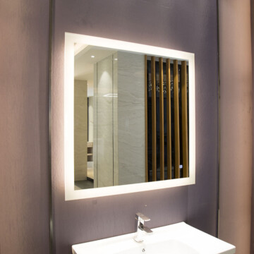 36x36 LED Backlit Vanity Mirror