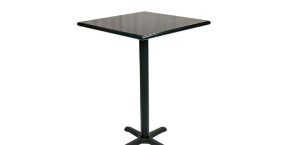 30x30 Table w/Bar Height Base — D700